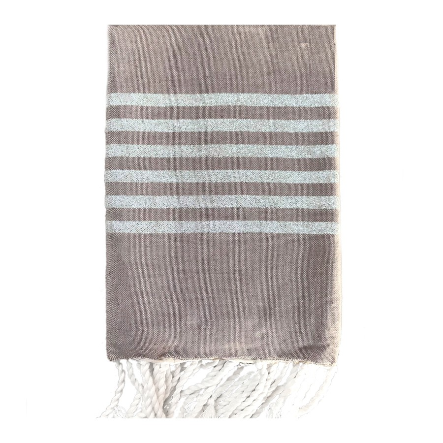 fouta-lurex-taupe-personnalisable