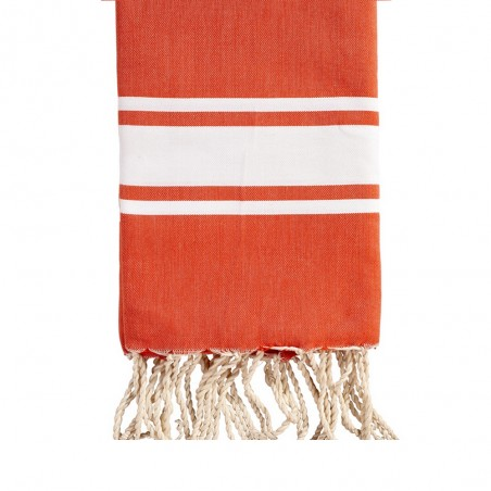 FOUTA PLATE ENFANT PERSONNALISABLE - ORANGE